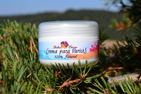 Crema para varices 100% natural