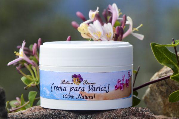 Crema natural para varices