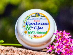 Crema Contorno de ojos para bolsas y ojeras de plantas medicinales