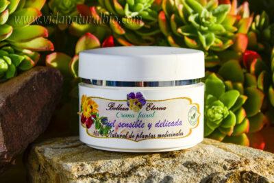 crema para piel sensible y delicada